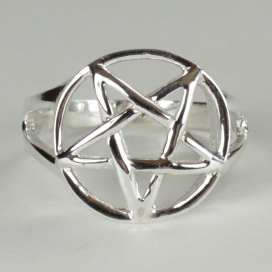 Star Pentacle Ring