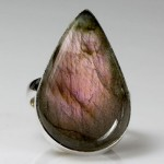 Labradorite Purple Mountains Majesty Ring